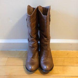 Steven Madden Brown Cowboy Boots